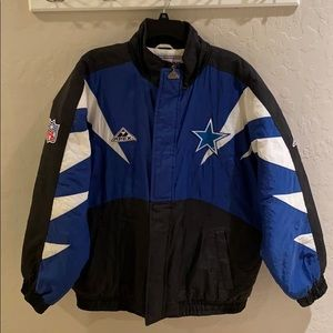 Vintage 90s Dallas Cowboys Pro Line Jacket Large